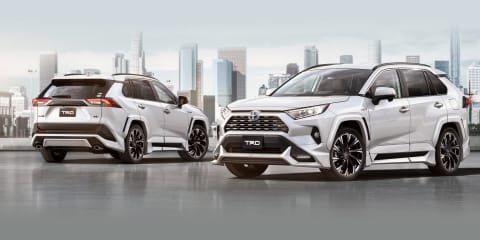 Toyota RAV4 gets TRD, Modellista kits for Japan