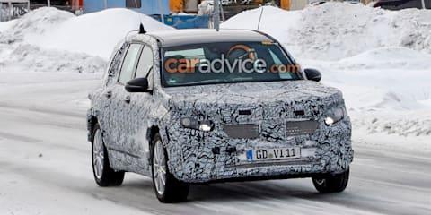 2020 Mercedes-Benz EQ B spied