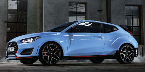 2021 Hyundai i30 N automatic previewed: Veloster N eight-speed dual-clutch auto