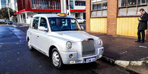 London Taxi TX4 Review - The Melbourne Trial Begins