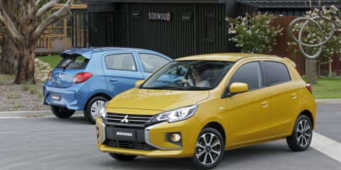 2020 Mitsubishi Mirage pricing and specs