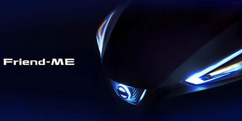 Nissan Friend-ME teased ahead of Shanghai debut