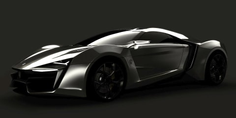 W Motors Hyper-sport: first Arab supercar features hologram tech