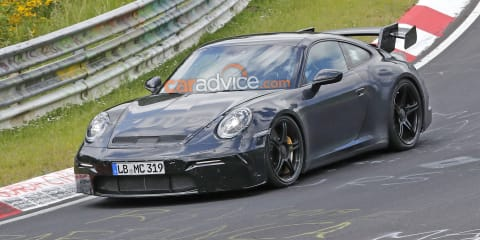2020 Porsche 911 GT3 spied at the 'Ring