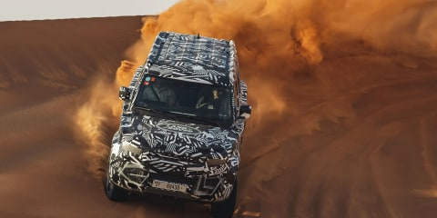 2020 Land Rover Defender teased