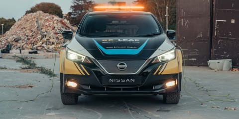 Nissan Re-Leaf concept revealed to electrify disaster response
