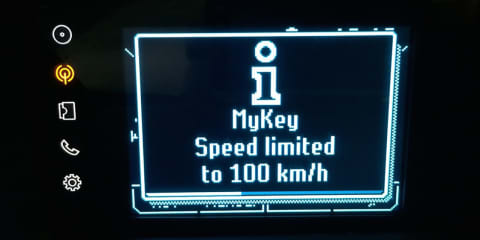 Ford MyKey Demo - Safety System for Young Drivers