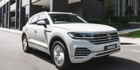 Volkswagen Touareg entry model arrives in Australia priced from $79,490