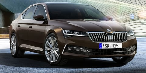 2020 Skoda Superb facelift unveiled, here in Q3