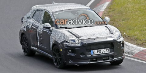 2020 Ford Puma ST spied