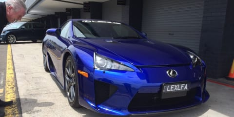 Lexus LFA: no plans for next-generation supercar