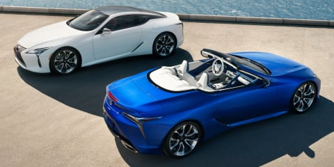 2021 Lexus LC confirmed for Australia, convertible arriving this year