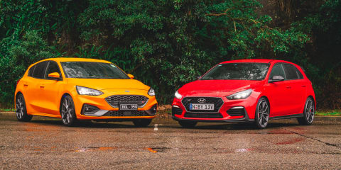 2020 Ford Focus ST v Hyundai i30 N comparison review