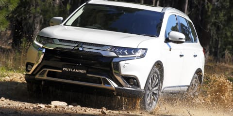 2020 Mitsubishi Outlander pricing and specs