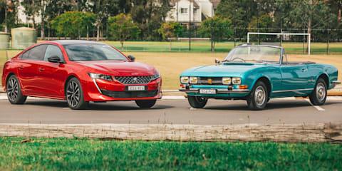 Old v new: 1970 Peugeot 504 Cabriolet v 2020 Peugeot 508 Fastback