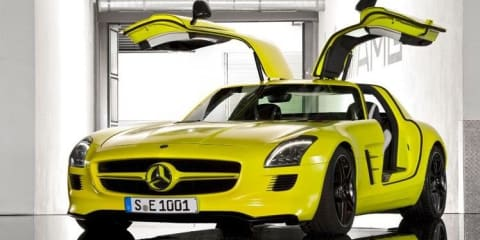 Mercedes-Benz SLS E-Cell with David Coulthard