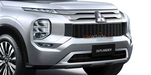 2021 Mitsubishi Outlander previewed in new renderings