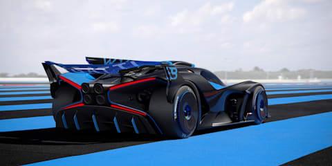 Bugatti takes the wraps off 500km/h hypercar