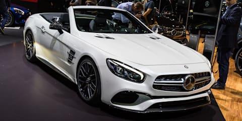 2016 Mercedes-Benz SL facelift : 2015 LA Auto Show