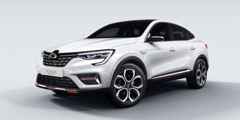 Renault Samsung XM3 Inspire concept revealed in Seoul