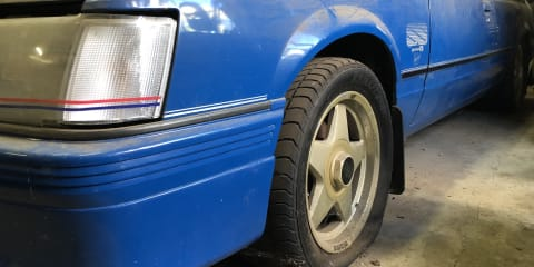 """Barn find! VK """"Blue Meanie"""" HDT Commodore found in a shed, could go for $200,000-plus"""