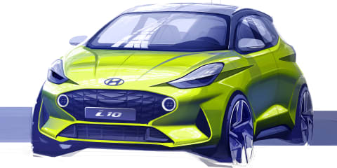 2020 Hyundai i10 sketched - UPDATE
