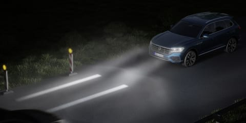 Volkswagen demos next-gen lighting technology