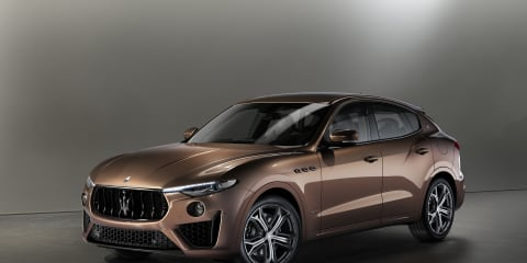 Maserati launches Levante Zegna special edition