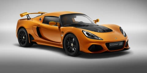 Lotus Exige 20th Anniversary edition revealed
