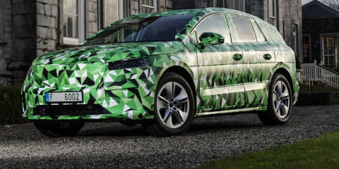 2021 Skoda Enyaq iV electric SUV teased: 225kW RS hero to lead the way