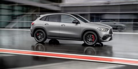 2020 Mercedes-AMG GLA45 S revealed