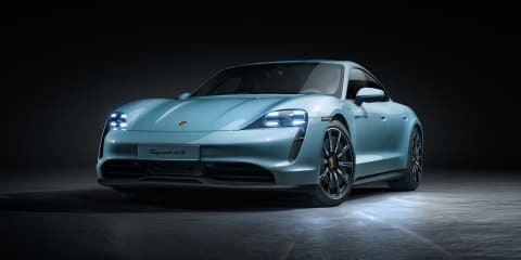 2020 Porsche Taycan 4S revealed
