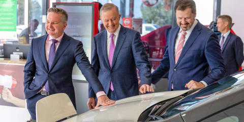 Federal Opposition promises tax cuts for electric vehicle buyers