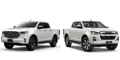 2021 Mazda BT-50 versus Isuzu D-Max: What's the difference?