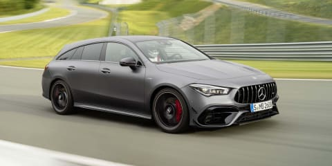2020 Mercedes-AMG CLA45 Shooting Brake revealed, not for Oz