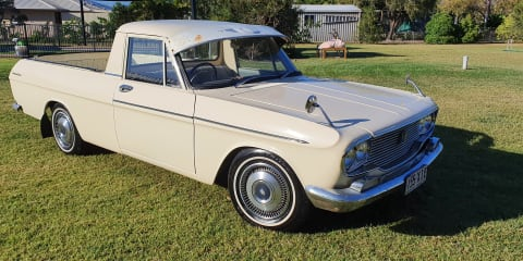 1964 Toyota Crown ute review