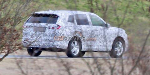 2022 Honda CR-V spied during testing