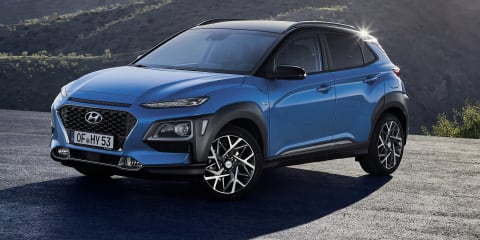 2019 Hyundai Kona Hybrid revealed, 'under review' for Australia