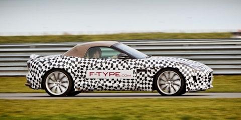 Jaguar F-Type dynamic test video