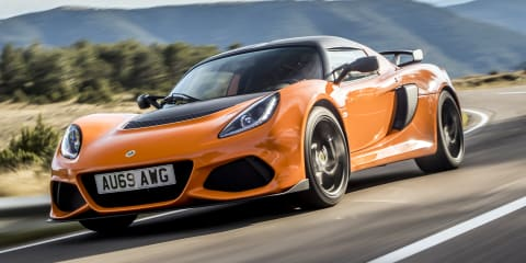 2020 Lotus Exige pricing and specs