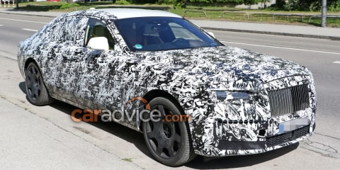 2020 Rolls-Royce Ghost spied inside and out
