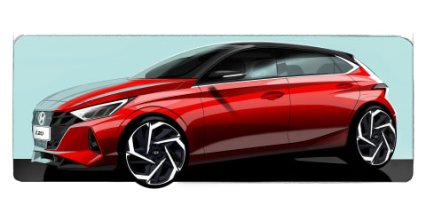 2020 Hyundai i20 sketched, still not for Australia