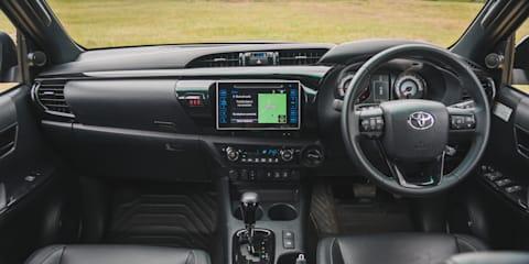 Ford Ranger Raptor v Toyota HiLux Rugged X v Volkswagen Amarok Ultimate TDI580 comparison