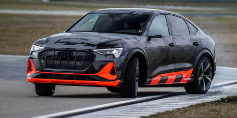 2021 Audi e-tron S revealed with more power, bound for Geneva motor show