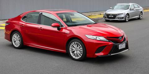 2020 Honda Accord Hybrid v Toyota Camry Hybrid comparison