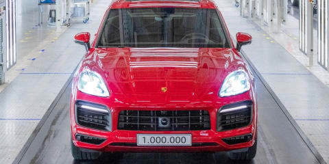 Porsche Cayenne: One million and counting