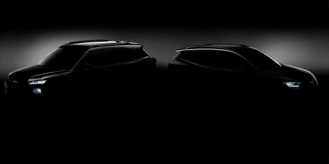Chevrolet Tracker, Trailblazer teased ahead of Shanghai debut