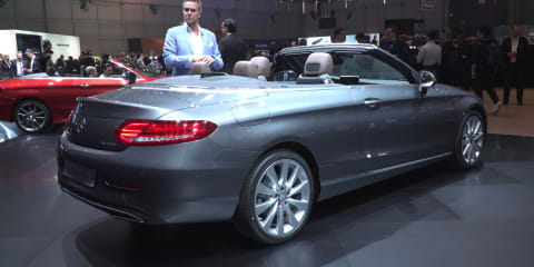 Mercedes-Benz C-Class Cabriolet : 2016 Geneva Motor Show