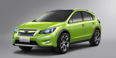Subaru XV Concept at Australian International Motor Show 2011