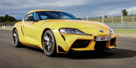 2019 Toyota GR Supra detailed for Europe